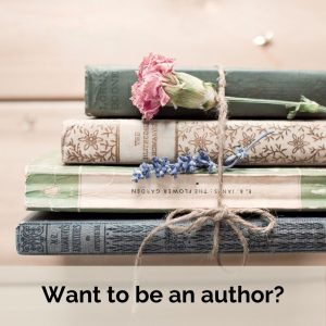 want to be an author?