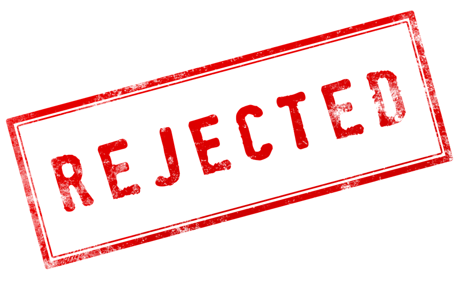 rejected manuscript